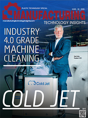 Cold Jet: Industry 4.0 Grade Machine Cleaning
